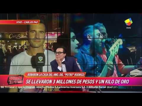 """Asaltaron la casa de Ulises Bueno, hermano de """"El Potro"""" Rodrigo: """"Se ll..."""