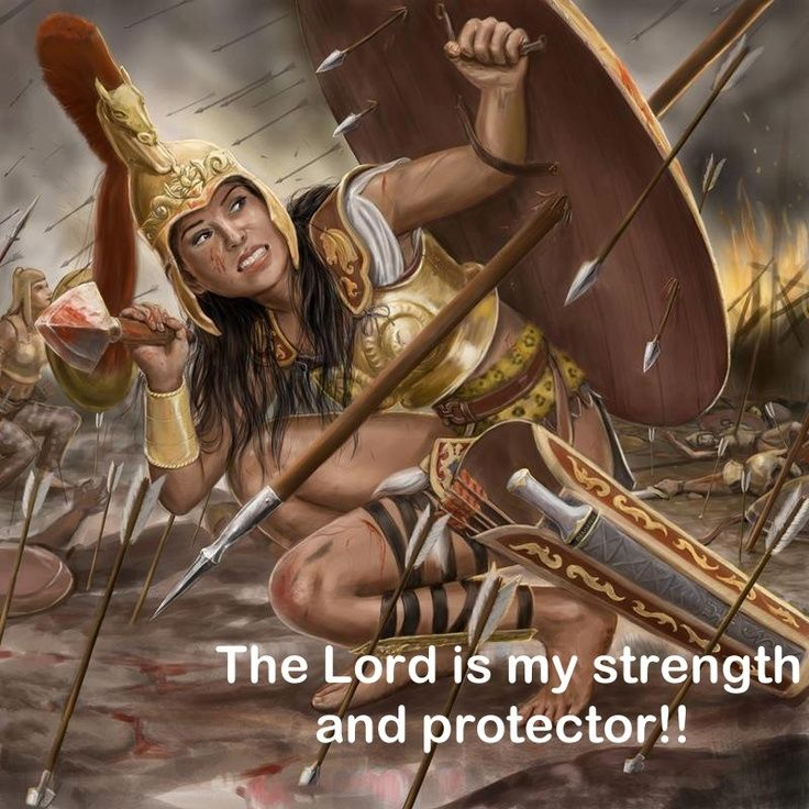 Warrior for Christ   Warrior For God!!