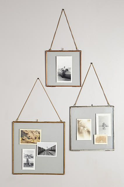 hinged hanging frame - How To Hang Photos