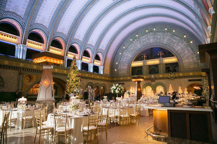 L Photographie . St. Louis Union Station Wedding, Grand Hall Wedding at St. Louis Union Station Hotel, Historic Wedding Venues St. Louis, Unique Wedding Venue St. Louis, Holiday Wedding Ideas