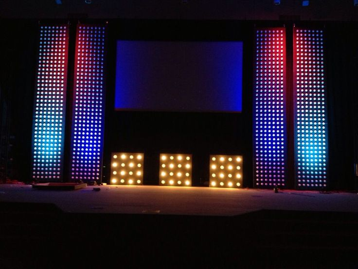 Detailed instructions on how to make this set with nothing more than styrofoamu2026 Church Stage ... & 105 best stage lighting images on Pinterest | Stage lighting ... azcodes.com