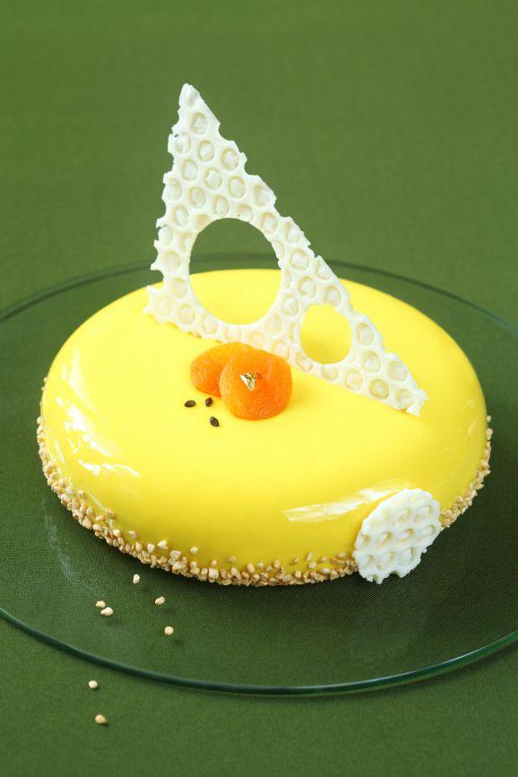 Verdade de sabor: honey-cake with dried apricots buckthorn / Torta mousse de mel, alperce seco e espinheiro marítimo