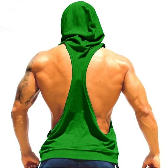 Shop Now: Hooded Singlets are available✨ #fitness #mensfitness #mensfashion #mensfitnessclothing #gym #workout #goals