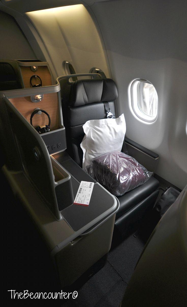 Qantas A330 Business Class