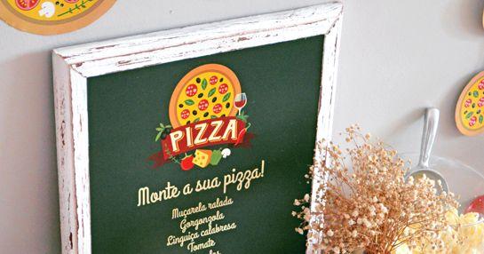A FESTA DA PIZZA aconteceu lá em casa numa sexta-feira à noite, dia da semana em que a gente normalmente pede pizza e abre uma ga...