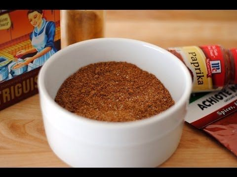 All-Purpose Seasoning Recipe - Substitute For Triguisar/Sazón Goya - Sweet y Salado - YouTube