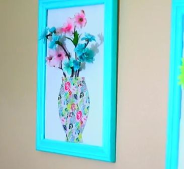 3D flower picture done by the beautiful Megan DeAngelis! If you would like to know how to do this in detail, go to her youtube page MayBaby and click on her teen room decor video!