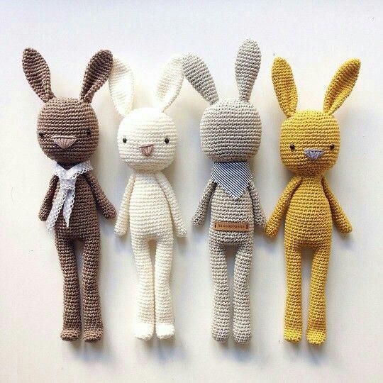 Crochet bunnies More