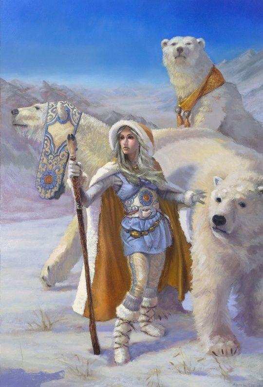 Polar Bear Entourage By Aaron Miller On INPRNT