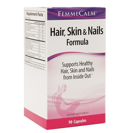 femmecalm hair skin and nails review