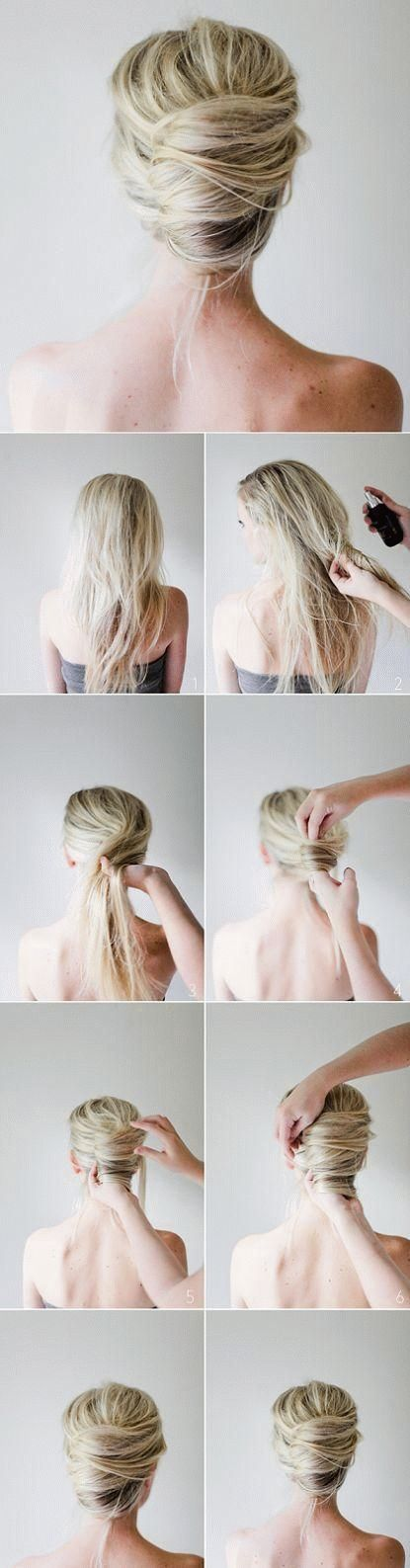 27 Easy Five Minutes Hairstyles Tutorials