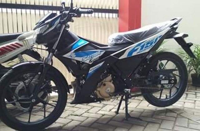 Suzuki Satria F150 Injeksi Sudah Bisa Dipesan