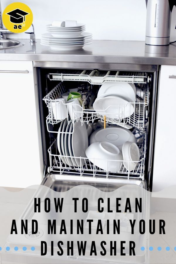 How To Clean And Maintain Your Dishwasher In 2020 With Images