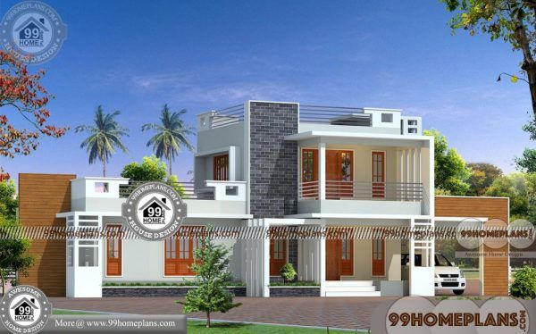 3bhk House Plan Good House Designs In Kerala Style With 3d Elevation Cool House Designs House Plans House Plans With Pictures