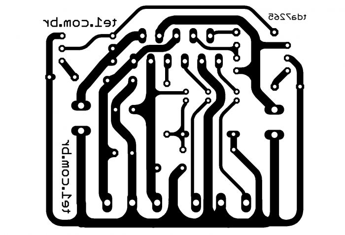 Amplificador potência estéreo com CI TDA7265 25 + 25 W di ...