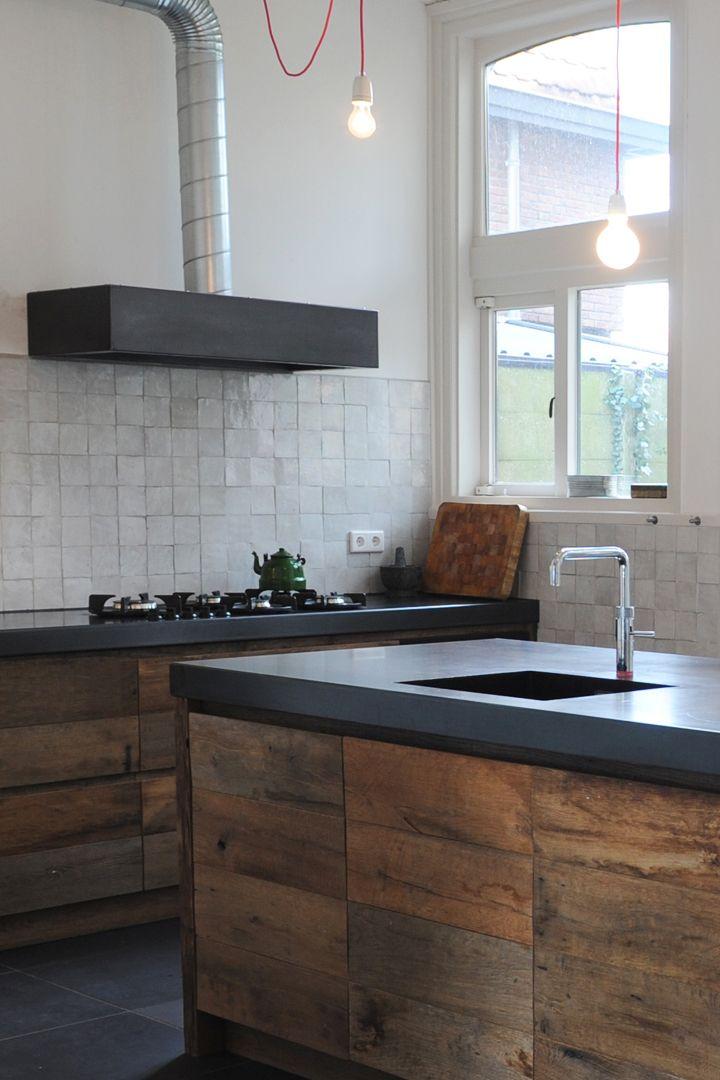 Eiken design keuken