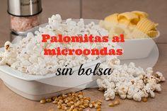 ¿Cómo hacer palomitas en el microondas sin bolsa?  #ahorro #ahorrar #ahorradoras #recetas