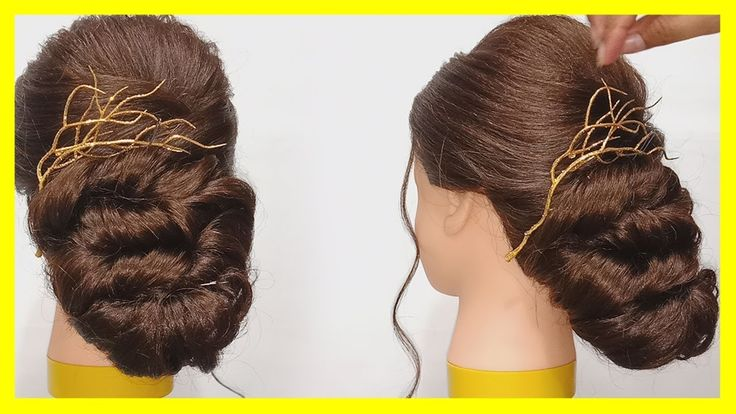 Visit and check out Bridal hairstyle tutorial by Amatak Beauty Salon - Asian bridal hairstyl...