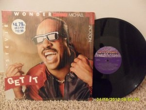 Stevie Wonder Amp Michael Jackson Get It My Rare Vinyl