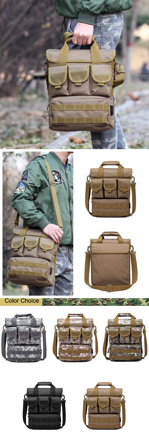 034d5a1a0 Outdoor Outfit: Casual Crossbody Bag / Sports Multi Pocket Bag For Men