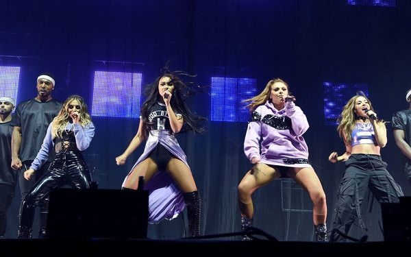 Little Mix Photos - Little Mix perform on stage during Free Radio Live 2016 at the Genting Arena on November 26, 2016 in Birmingham, United Kingdom. - Free Radio Live 2016 - Show