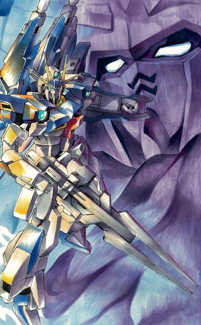 GUNDAM GUY: Gundam Build Fighters Try - Fan-Art Poster Image