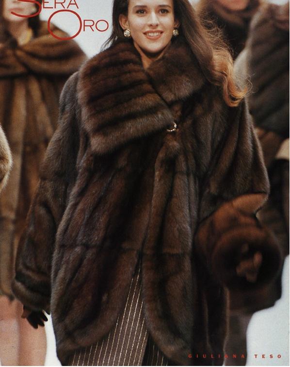 Sexy faux fur coat