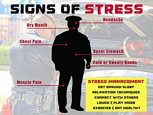 stress on police Police stress police officers experience frequent and ongoing stressors in their work these stressors range from cumulative stress (constant risk on the job,.