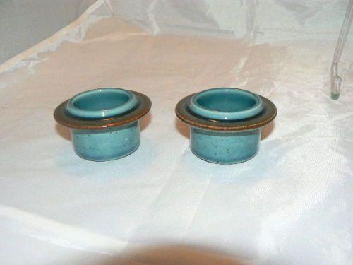 2-x-ARABIA-FINLAND-egg-cup-cups-MERI-BLUE
