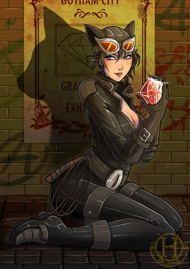 Bat cute catwoman by hedrick cs deviantart com on deviantart
