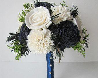 Small Bridal Bouquet Keepsake Small Bridal by TheBackyardGardener