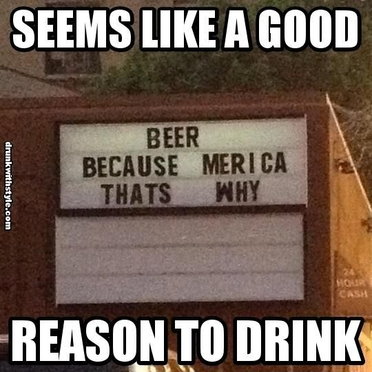 America drinking quotes