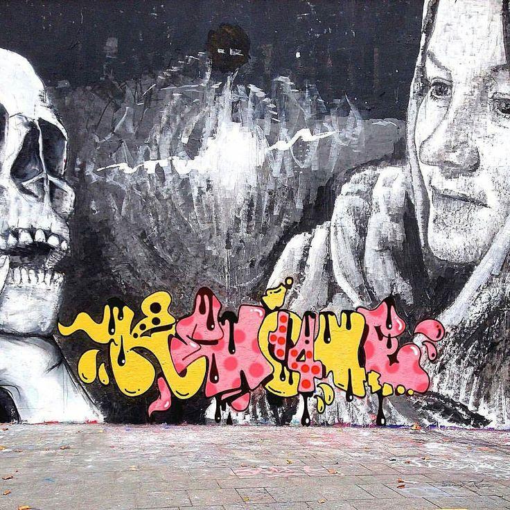 KENO PAL CREW  @keno_pal_paris _______________________ #madstylers #bombing #ilovebombing #graff #graffiti #sprayart #graffitiart #graffporn  #style #hiphop #spray #sprayart #letters #colorful