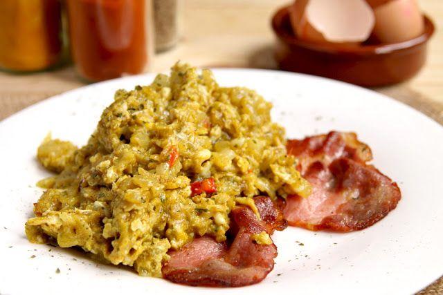 Codzienne Gotowanie: Jajecznica na indyjską nutę