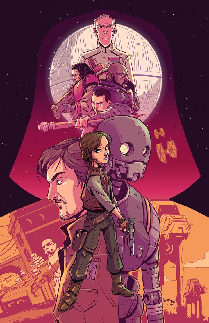 Rogue One Created by Derek Laufman