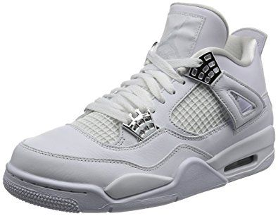 first rate b9eb9 dbc22 Jordan Air 4 Retro Pure Money Men Lifestyle Sneakers New White – 8.5 Review