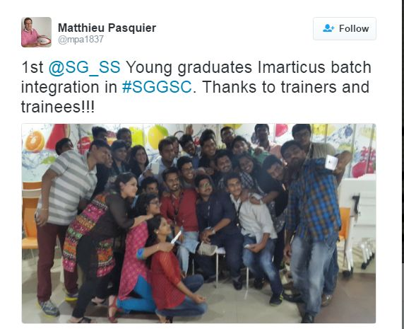 1st SG_SS Young Graduates #Imarticus Batch Integration in #SGGSC   To Know More About Our Placements Visit http://imarticus.org/placements