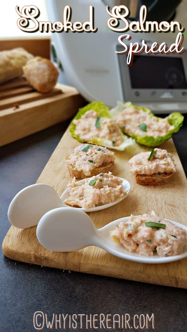 """Ready in just 2 minutes, your Smoked Salmon Spread will look - and taste - great on apéritif spoons, on toast or sliced baguette, and as a gluten-free option, in Little Gem lettuce """"boats"""""""