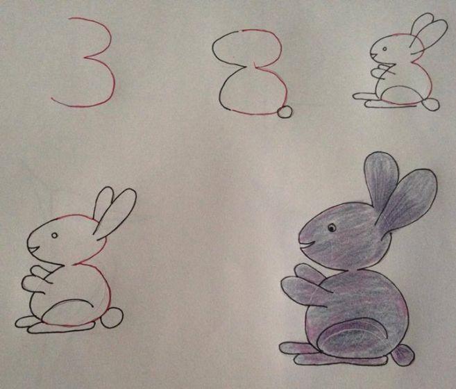 9 Gambar hewan ini dibentuk dari angka, lucu lho!