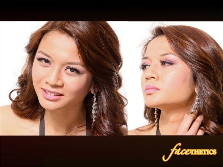 A Happy Customer | Facethetics MakeUp Artists