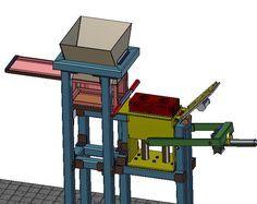 Interlock Brick machine simulation_2 - 3D CAD model - GrabCAD