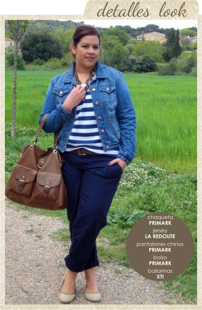 Chaqueta tejana talla grande   Denim Jacket Plus size  http://vistetequevienencurvas.blogspot.com.es/2013/05/quien-tiene-una-chaqueta-tejana.html