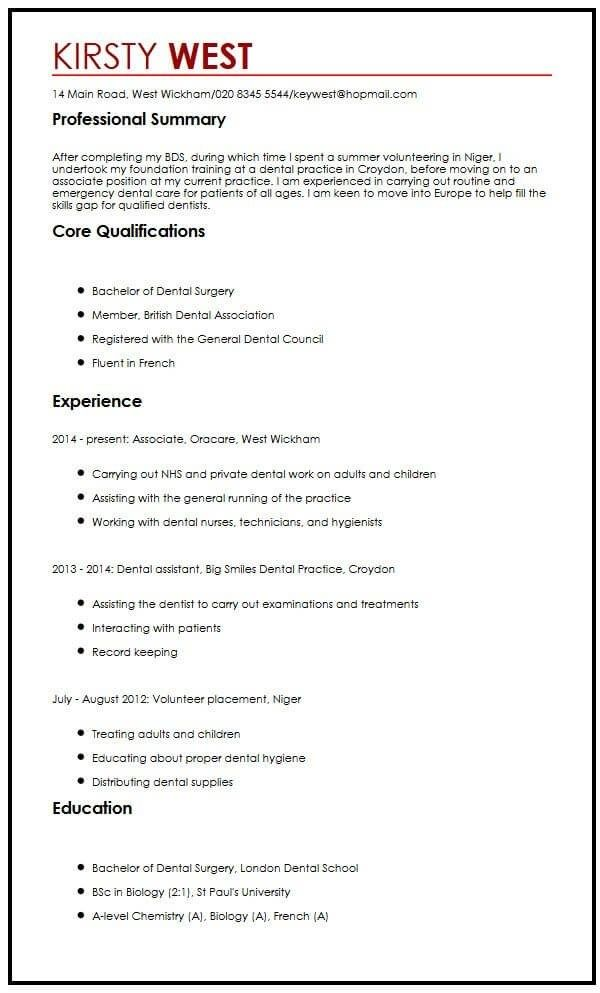 Europass Cv Sample Myperfectcv Cv Template Cv Design Template Clean Resume Template