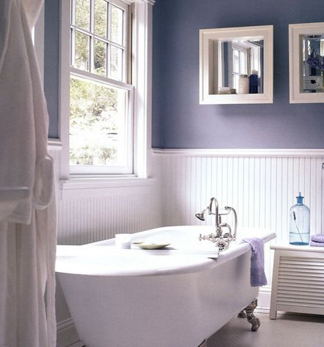 114 best images about bathroom ideas on pinterest for Grey and purple bathroom ideas