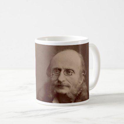 Jacques Offenbach - classical music composer Coffee Mug - decor gifts diy home & living cyo giftidea