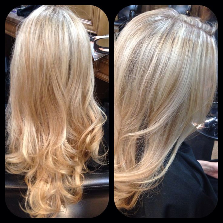 Blonde With Low Lights 80