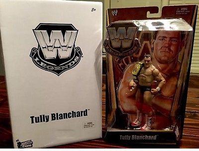 Mattel WWE Tully Blanchard Legends Wrestling Figure Belt WWF WCW Flashback Elite