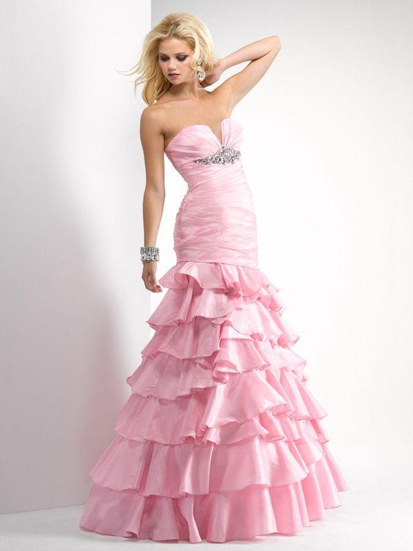 pink prom dresses empire waist retail under 200