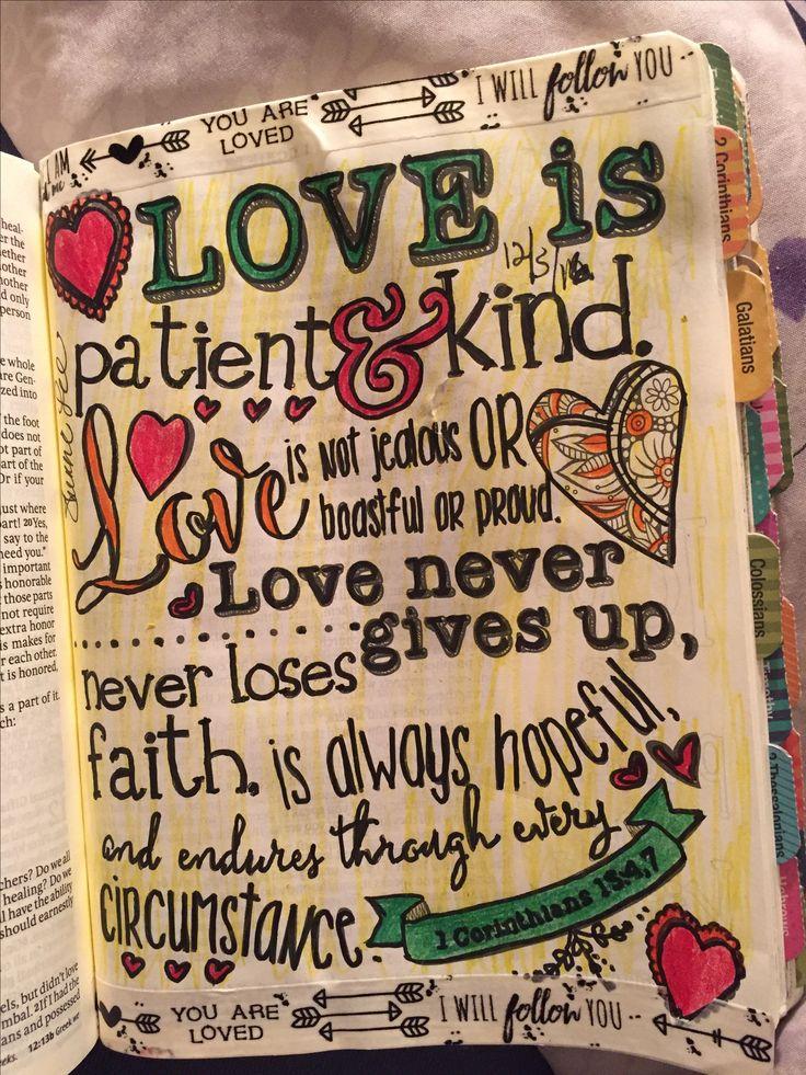 Love is patience