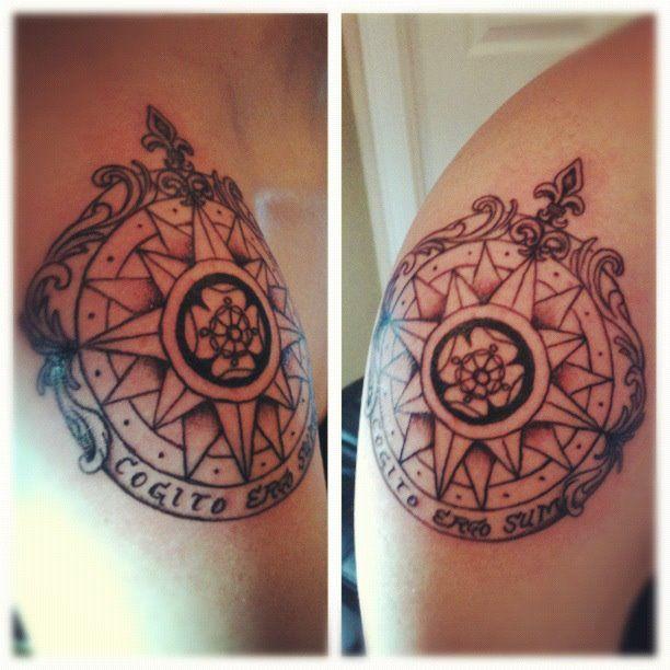 As 78 melhores imagens em tattoos rel gio bussola for Bussola tattoo significato